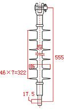 Meba SJI3-35KV-Composite-Insulator_