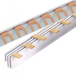 Pin type and fork type busbar