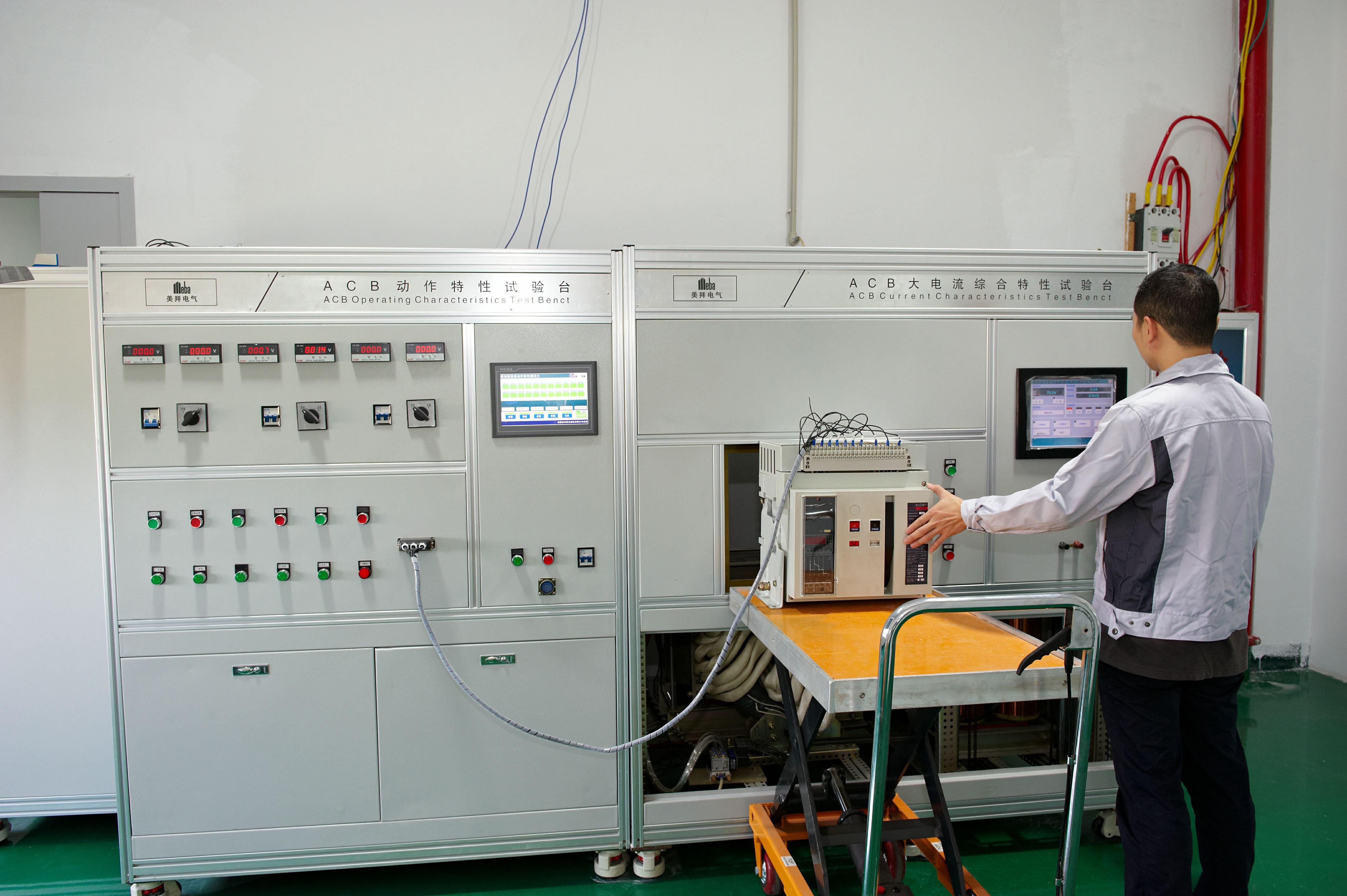 Electric Breaker Acb Wiring Test Machine