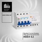 MBB4-63 Electrical RCBO