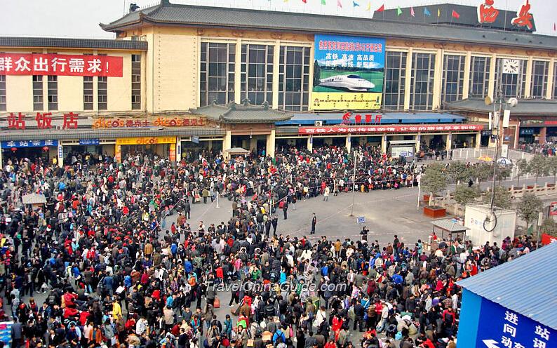 Spring Festival Travel Rush In China Meba Electric Enterprises