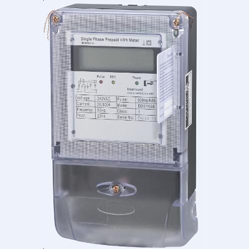 Electronic Prepayment Watt-hour Meter