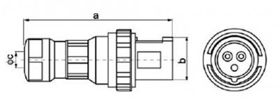 Industrial Plugs NC-0332 IP671
