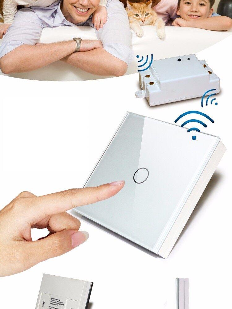 Smart Wireless Wifi Switch touch Wall Switch